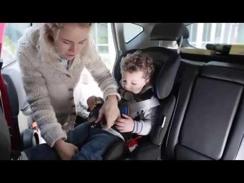 JAGO Auto Kindersitz Mitwachsend Gruppe I, II, II Und 9-36 Kg KASTZ01