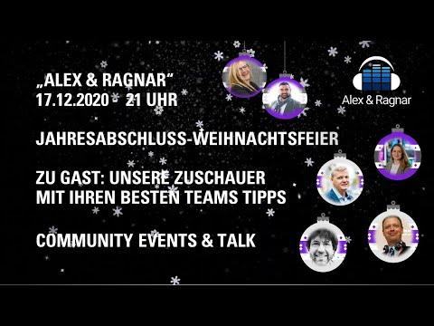 Alex & Ragnar - Ihr seid unsere Gäste zur Weihnachtsfeier #MicrosoftTeams