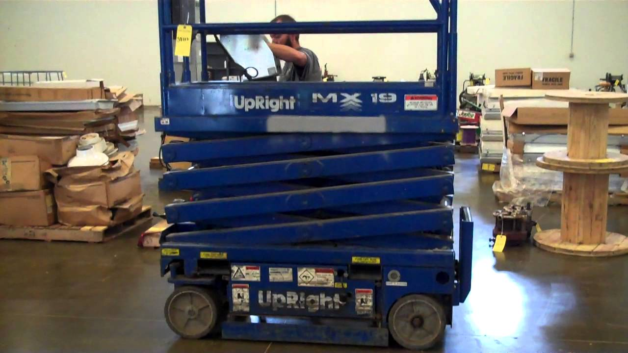 Upright Scissor Lift Service Manual 65700 Scissors Wire Diagram Mx19 Tag 38107 Youtube Rh Com Model 14120 Sl 20