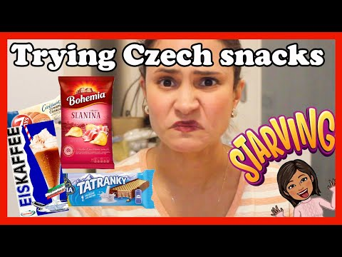 Trying Czech snacks I never tried before || Food test