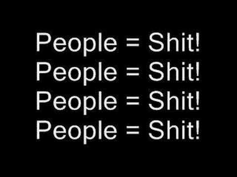 Slipknot People = Shit Lyrics