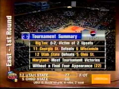 03/15/2001 NCAA West Regional 1st Round:  #14 George Mason Patriots vs.  #3 Maryland Terrapins