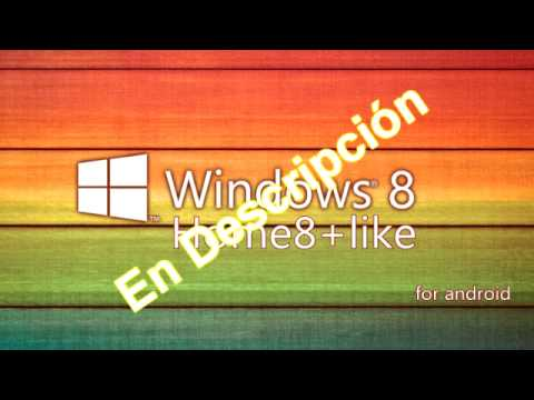 Descargar Home8+like Windows 8 v3.5 [Tema de Windows 8] [Apk] [Android] [MG]