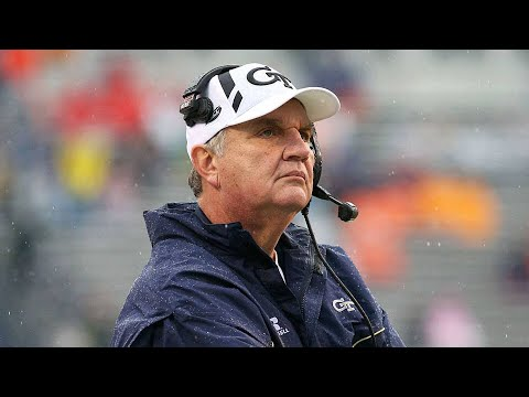 Paul Johnson Head Coach of GT Retires  Whos GT Next Head Coach?