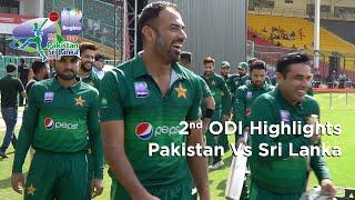 2nd Odi | Pakistan Vs Sri Lanka Series 2019 | Highlights