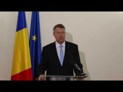 STIRIPESURSE.RO Declaratia Presedintelui Klaus Iohannis la Roma - 25 martie 2017