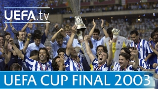 2003 UEFA Cup final highlights - Porto-Celtic