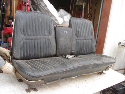 1967 Impala Caprice Strato Bench Seat Bucket Folding Arm
