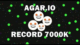|AGAR.IO| REDDIT THE KILLER | 7000K |