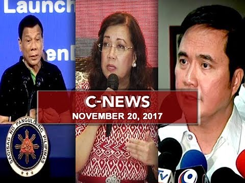 UNTV: C-News (November 20, 2017)