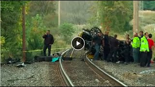 2 teens killed after Porsche plunges onto train tracks in Rockland County