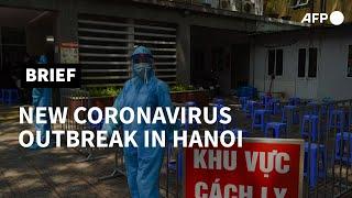 Vietnam orders 21,000 Hanoi residents to take virus test | AFP