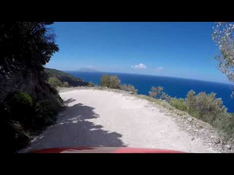 174. Samos - The road from Drakei to Agios Isidoros