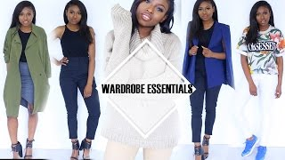 10 Outfits 10 Items My Top Wardrobe Essentials ! On A Budget? Need A Refresh???