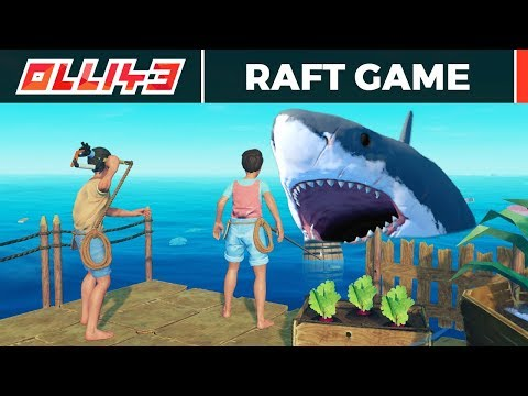 Raft Coop Survival - Stranded Out at Sea!!