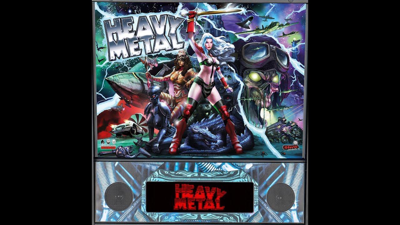 Heavy Metal Pinball 6/15/20