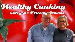 Marilyns Fresh Tomato Marinara .::. Healthy Cooking w your Friendly Italians #14