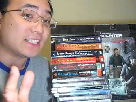 Tom Clancy's Splinter Cell (ALL Books, Novels, Toys!)