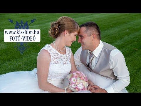 Ivett és Attila esküvője - Dombrád Tiszapart