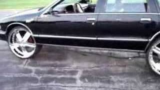 How to put 24s, 26s+  on your Chevy Caprice Bubble CHROME