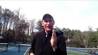 Tennis Serve Tip: Controlling the Slice Serve with Lisa Dodson