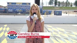 Caroline Burns to Sing July National Anthem