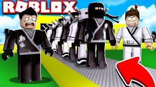 NINJA FACTORY EN ROBLOX!! (Ninja Tycoon)