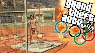 DE OLYMPISCHE SPELEN! - GTA 5 Online Funny Moments