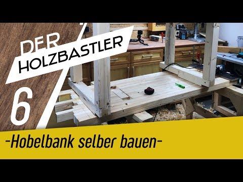 Die Hobelbank #6 - Arbeitsplatte verheiraten