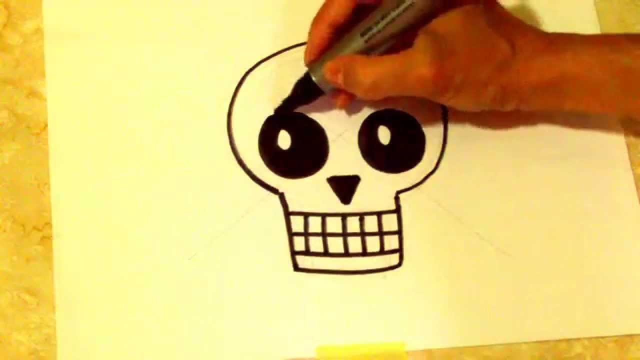 Dibuja Una Calavera Pirata Draw A Pirate Skull Youtube