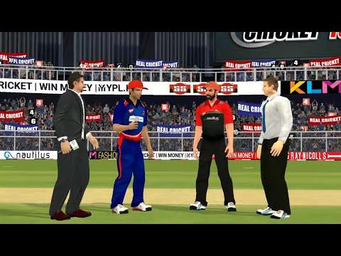 21st April IPL 11 Royal Challengers Bangalore Vs Delhi Daredevils Real Cricket 2018 Mobile Gameplay