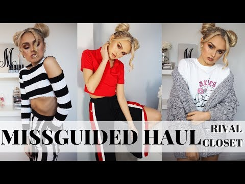 Missguided Haul & Rival Closet Haul | Try On Haul & Complete outfit looks