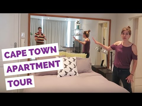 Cape Town Apartment Tour in South Africa