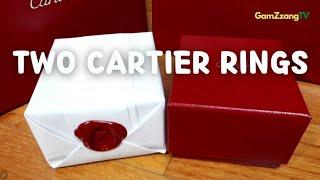Cartier Rings.까르띠에 반지.트리니티,클래쉬…