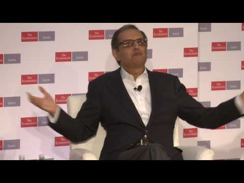 The Bagehot lecture: Vikram Pandit
