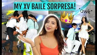 Video REACTING TO MY QUINCEAÑERA SURPRISE DANCE! download MP3, 3GP, MP4, WEBM, AVI, FLV Agustus 2018