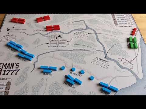 The Battle Of Freeman's Farm - 1st Saratoga - 1777
