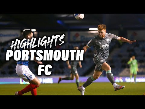 Portsmouth Fleetwood Town Goals And Highlights