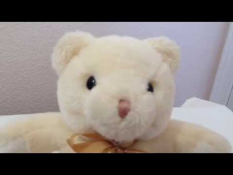 Baby Gund Musical Bear 1990