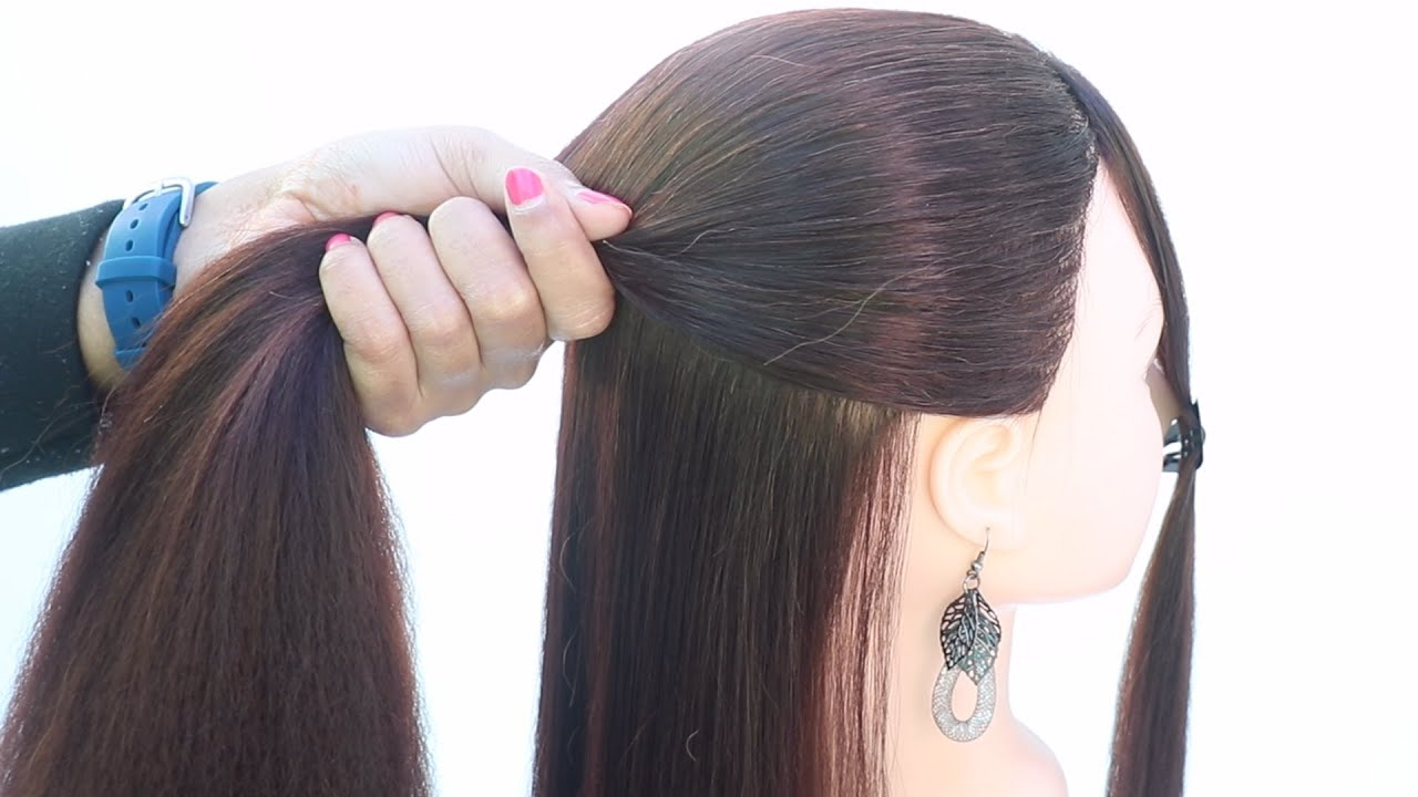 12 antique open hairstyle for party   cute hairstyle   cool hairstyle   front hairstyle   hairstyle