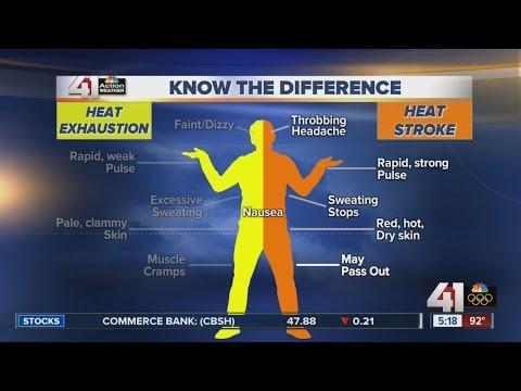 Understanding heat exhaustion and heat stroke