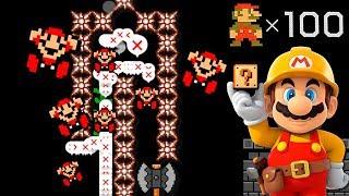 Niveles con una precisión INSANA 😱 - SUPER EXPERTO NO SKIP #79 | Super Mario Maker - MarkGamer03