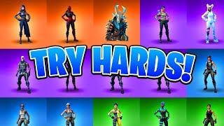 "Most ""Try Hard"" Skins In Fortnite! (Ranking All Fortnite Skins) (Trigger Warning)"