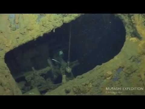 Researchers broadcast live underwater tour of sunken Japanese warship Musashi