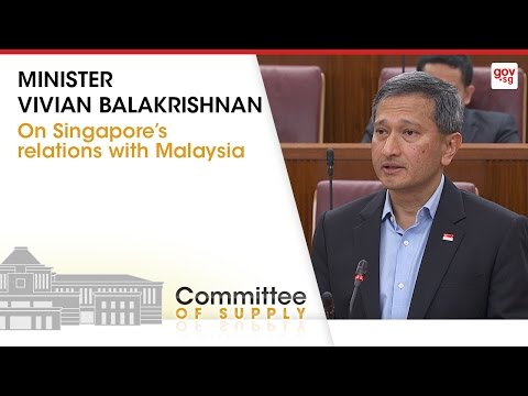 Singapore's Relations with Malaysia