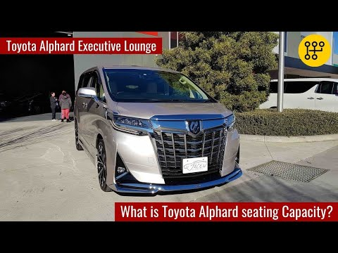 2019 Toyota Alphard Executive Lounge In depth Tour interior and exterior