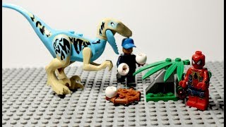 vuclip Lego Sipderman Building Lego Toys Sipderman,Dinosaurs - Lego Stop Motion