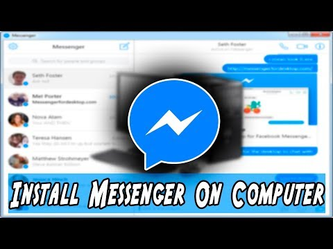 How To Get Facebook Web Messenger  On Any PC Or Laptop In Windows XP|7|8|10-Hindi - Urdu