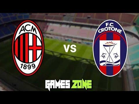 Ac Milan Vs Crotone Live Stream Italian Serie A  F F E Aegames Zone