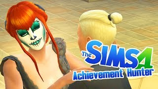 VAMPIRE DUNGEON - 53 - Achievement Hunter (Sims 4 Get Famous)
